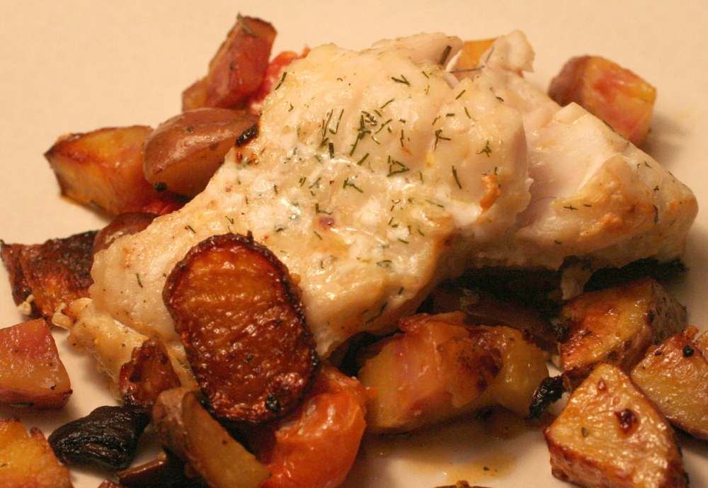 Baked walleye the coolest potato i 39 ve ever seen for Walleye fish recipes